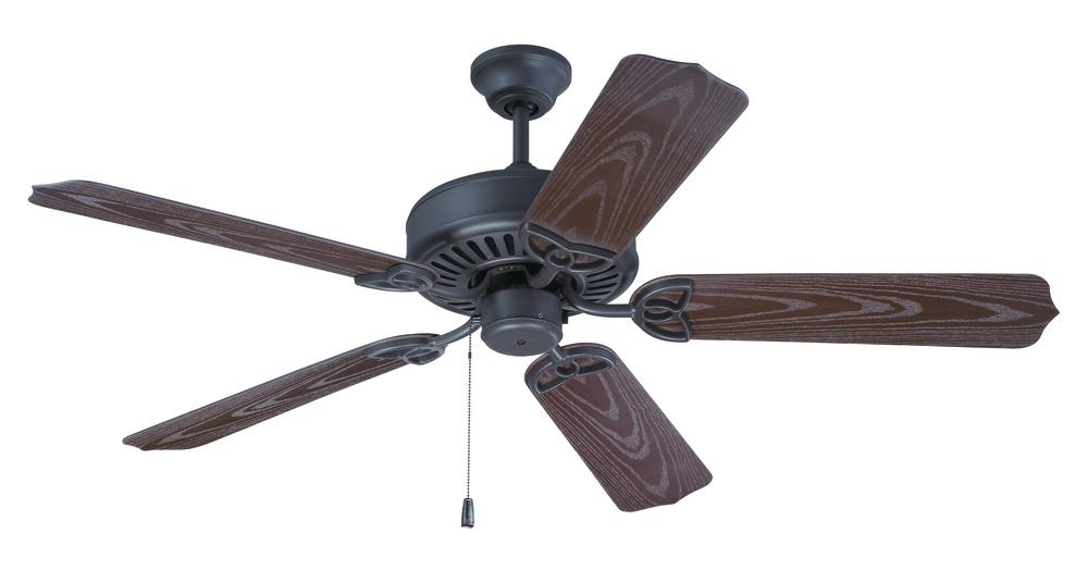 Outdoor patio 52 ceiling fan kit in brown